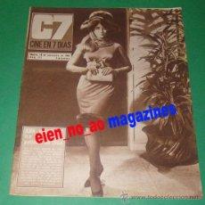 Cine: CINE EN 7 DIAS #292/1966 ANN MARGRET~GORDON SCOTT TARZAN~FENELLA FIELDING~LOLA FLORES~ELKE SOMMER. Lote 27130961
