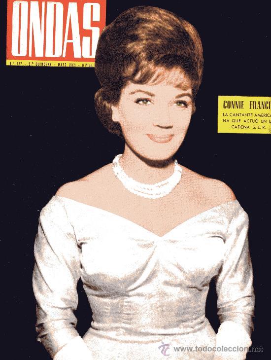 ONDAS Nº227 (1962) (RADIO) BODA DE SOFIA Y JUAN CARLOS, CONNIE FRANCIS, KIKO, BALDUINO Y FABIOLA... (Cine - Revistas - Ondas)