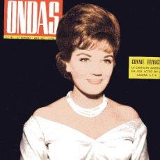 Cine: ONDAS Nº227 (1962) (RADIO) BODA DE SOFIA Y JUAN CARLOS, CONNIE FRANCIS, KIKO, BALDUINO Y FABIOLA.... Lote 18798458