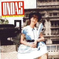 Cine: ONDAS Nº231 (1962) (RADIO) AUDREY HEPBURN, PAUL ANKA, JAYNE MANSFIELD, ROSARIO Y ANTONIO, GRACE MON. Lote 18824378