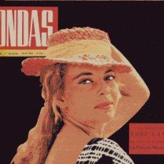 Cine: ONDAS Nº230 (1962) (RADIO) ABBE LANE, TORREBRUNO, SINATRA, XAVIER CUGAT, ANTONIO ORDOÑEZ,. Lote 18824507