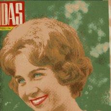 Cine: ONDAS Nº226 (1962) (RADIO) SOFIA, JULIO MONTIJANO, LOS TARANTOS, ENRIQUETA TEIXIDOR, SOFIA LOREN.... Lote 18824656