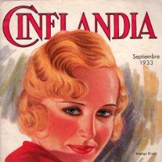 Cinéma: CINELANDIA. SEPTIEMBRE 1933. PUBLICADA EN HOLLYWOOD. MADGE EVANS.. Lote 18886174
