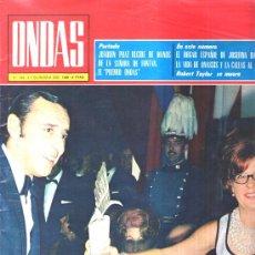 Cinema: ONDAS : 1968 Nº 385 , ARTICULO A ANNA MOFFO , ARTICULO LOLA FLORES , . Lote 27588418