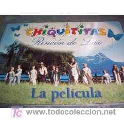 LIBRO DE CHIQUITITAS, RINCON DE LUZ - LA PELICULA - ARGENTINA - 2001 - PARA FANATICOS!! (Cine - Revistas - Otros)