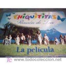Cine: LIBRO DE CHIQUITITAS, RINCON DE LUZ - LA PELICULA - ARGENTINA - 2001 - PARA FANATICOS!!. Lote 97964127