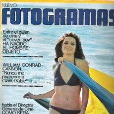 Cine: FOTOGRAMAS Nº 1325 CONRAD CANNON / POSTER PRISCILLA PRESLEY ** MARZO 1974. Lote 19360483