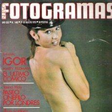 Cine: FOTOGRAMAS Nº 1402 ** AGOSTO 1975 ** MARTY FELMAN / NORMA KERR /. Lote 19361402