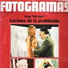 Cine: FOTOGRAMAS Nº 1507 - LAS FOTOS DE LA PROHIBICION / GROUCHO MARX / BEATRIZ / ELVIS PRESLEY ALBUM. Lote 19361456