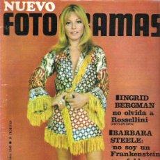 Cine: FOTOGRAMAS Nº 1048 ** NOV 1968 - INGRID BERGMAN / BARBARA STEELE / ERIKA RAFFAEL **. Lote 19371459