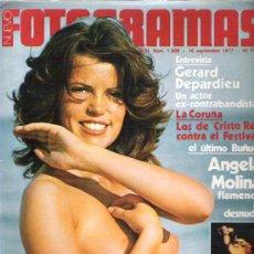 Cine: FOTOGRAMAS Nº 1509 ** SEP 1977 - GERARD DEPARDIEU / ANGELA MOLINA ** SUPLEMENTO RITA HAYWORTH. Lote 19371537