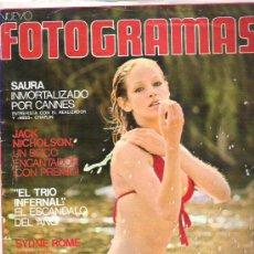Cine: FOTOGRAMA Nº 1338 JUNIO 1974 - SAURA / JACK NICHOLSON / SYDNE ROME / HENRIETTE CASARI POSTER. Lote 19371569