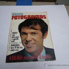 Cine: ADAMO PORTADA Y REVISTA NUEVO FOTOGRAMAS.. Lote 19484884