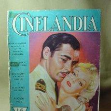 Cine: REVISTA CINELANDIA, AGOSTO 1935, CLARK GABLE, ESTRENOS, PUBLICIDADES DE LA EPOCA, KELLOGGS. Lote 19560495