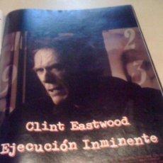 Cine: 'EJECUCIÓN INMINENTE', DE CLINT EASTWOOD. PÁGINA DE PRENSA.. Lote 19714758