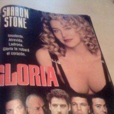 Cine: 'GLORIA', CON SHARON STONE. PÁGINA DE PRENSA.. Lote 19715051