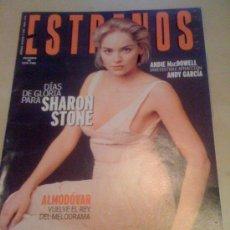 Cine: REVISTA 'ESTRENOS', Nº 71. ABRIL 1999. SHARON STONE EN PORTADA.. Lote 19794095
