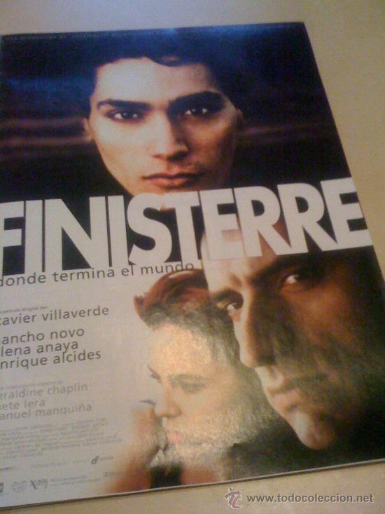 'FINISTERRE', CON NANCHO NOVO. PÁGINA DE PRENSA. (Cine - Reproducciones de carteles, folletos...)