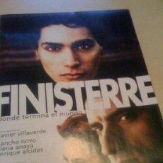 Cine: 'FINISTERRE', CON NANCHO NOVO. PÁGINA DE PRENSA.. Lote 19794160
