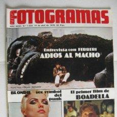 Cine: NUEVO FOTOGRAMAS - 1539 CON ALBUM MAE WEST. Lote 19897781