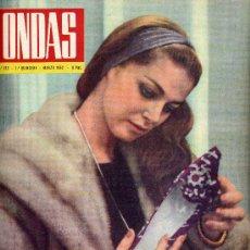 Cine: ONDAS Nº222 (1962) (RADIO) PIER ANGELI, MODUGNO, ESTRELLITA CASTRO,MARY SANTPERE Y MÁS COSAS . Lote 19979656