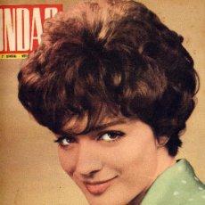 Cine: ONDAS Nº239 (1962) (RADIO) MARIA PEYSSON, ROSARIO Y ANTONIO, ,JAYNE MANSFIELD, PREMIOS ONDAS,. Lote 19979965