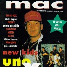 Cinema: MAGAZINE MAC (NEW KIDS9 1990 Nº6 SPAIN. Lote 20192314
