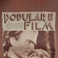 Cine: REVISTA CINEMATOGRAFICA POPULAR FILM. DE CINE, NUM 476, 3 OCTUBRE 1935. ANTIGUA DE LA REPUBLICA.. Lote 22085292
