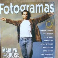 Cine: FOTOGRAMAS. ESPECIAL COLECCIONISTAS. EL GLAMOUR DE LOS JEANS. DE MARILYN A TOM CRUISE.. Lote 26620791