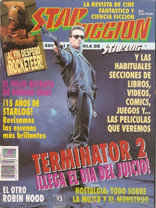REVISTA CIENCIA FICCION STAR FICCION Nº 5 (Cine - Revistas - Star Ficcion)