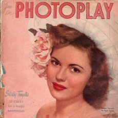 Cine: PHOTOPLAY. SHIRLEY TEMPLE BY PAUL HESSE. 1947. 27 X 21 CM. 134 PAGINAS. . Lote 26184765