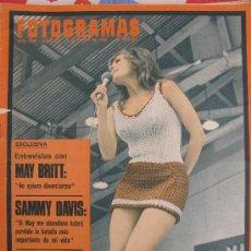 Cine: REVISTA FOTOGRAMAS RAQUEL WELCH DE 1968. Lote 26406197