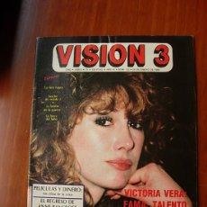 Cine: VISION 3 REVISTA DE CINE CON POSTER DE MIA FARROW. Lote 26588206