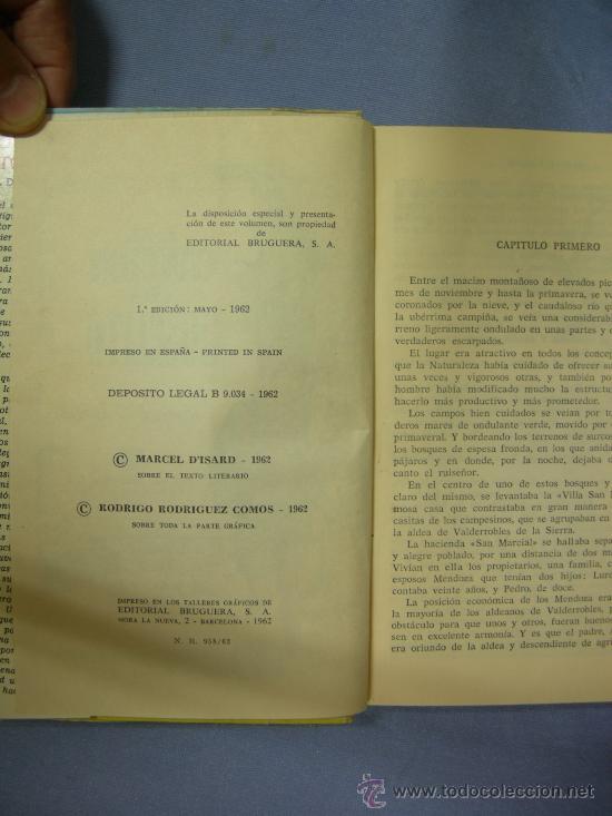 Cine: LIBRO la cancion de joselito, con 250 ilustraciones, ed. bruguera, 1ª edición 1962 - Foto 2 - 24674136