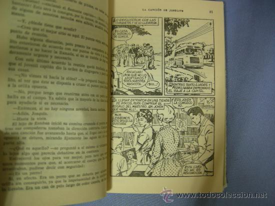 Cine: LIBRO la cancion de joselito, con 250 ilustraciones, ed. bruguera, 1ª edición 1962 - Foto 3 - 24674136