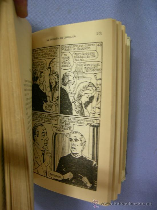 Cine: LIBRO la cancion de joselito, con 250 ilustraciones, ed. bruguera, 1ª edición 1962 - Foto 5 - 24674136