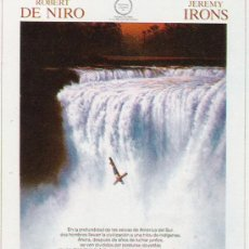 Cine: PROGRAMA DE MANO LA MISION . Lote 21517129