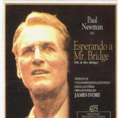 Cine: PROGRAMA DE MANO ESPERANDO A MR.BRIDGE. Lote 21517218
