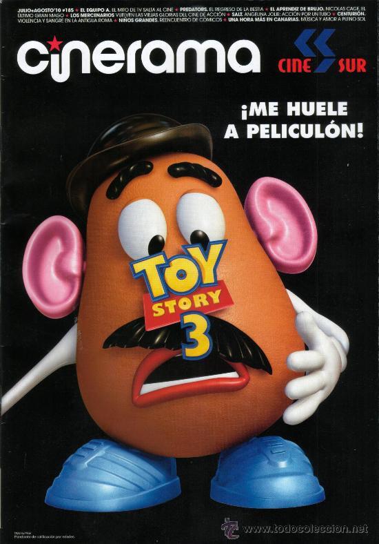 REVISTA CINERAMA TOY STORY 3 Y RESEÑA DE CINE (Cine - Revistas - Cinerama)