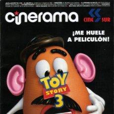 Cine: REVISTA CINERAMA TOY STORY 3 Y RESEÑA DE CINE. Lote 26300821
