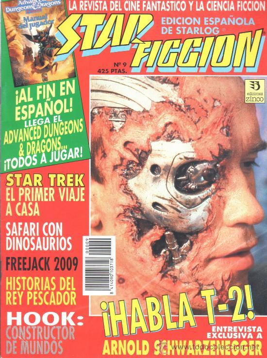 STAR FICCION 09 ZINCO (Cine - Revistas - Star Ficcion)