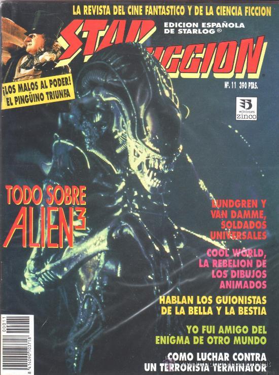 STAR FICCION 11 ZINCO (Cine - Revistas - Star Ficcion)