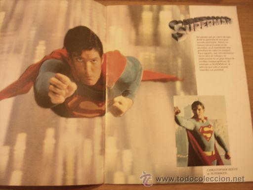 Cine: REVISTA SUPERMAN EL FILM - Editorial Bruguera - UNICA - Con fotos color de la película - 1979 - Foto 2 - 61945992