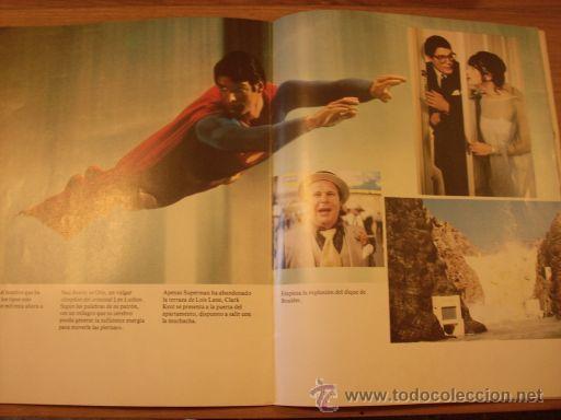 Cine: REVISTA SUPERMAN EL FILM - Editorial Bruguera - UNICA - Con fotos color de la película - 1979 - Foto 4 - 61945992