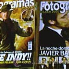 Cine: REVISTAS FOTOGRAMAS - DE MARZO A JUNIO DE 2008 (4 NÚMEROS + 1 ESPECIAL OSCAR PARA JAVIER BARDEM). Lote 23464779