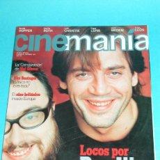 Cine: CINEMANIA Nº 26 NOVIEMBRE 1997 - JAVIER BARDEM Y ALEX DE LA IGLESIA. Lote 24879053