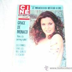 Cine: CINE REVUE Nº 45, NOVEMBER 1974: GRACE DE MONACO. PAUL FRANKEUR. ALAIN BARRIERE. JOHN GARFIELD.. Lote 22597936