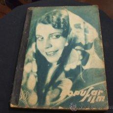 Cine: POPULAR FILM - 17 REVISTAS - DEL NUMERO 128 AL 144 - 10 ENERO 1929 AL 2 MAYO 1929 -. Lote 22702103