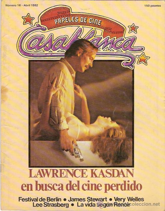 CASABLANCA. PAPELES DE CINE. ABRIL 1982 (Cine - Revistas - Papeles de cine)