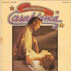 Cine: CASABLANCA. PAPELES DE CINE. ABRIL 1982. Lote 34024022